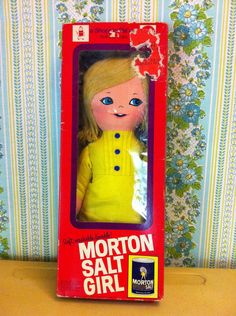 Your place to buy and sell all things handmade Morton Salt Girl, Lily Cat, Vintage Dolls, Doll Toys, Girl Dolls, Shower, Icons, Collections, Dreams