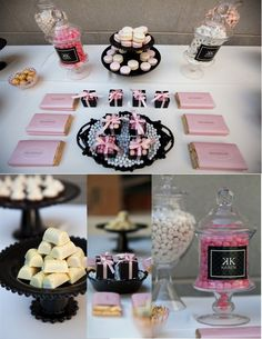 {LUCIA PAUL DESIGN}   Luxury Florida Destination Wedding Planner + Designer: {Real Event   Chanel Inspired Bridal Shower}