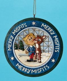 Take a look at this Rudolph & Hermey Ornament by Jim Shore on #zulily today!