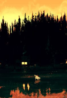 River bank in yellow by PascalCampion.deviantart.com on @DeviantArt