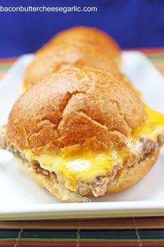 Copycat White Castle Sliders   FoodBlogs.com