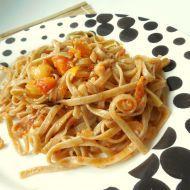 Fotografie receptu: Zeleninové tagliatelle s pestem