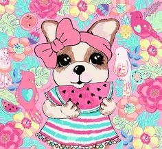 Dog Kennel Flooring, Pink Panter, Dallas Cowboys Logo, Adoption Party, Surf Art, Dog Birthday, Cool Logo, Cute Drawings, Cute Dogs
