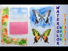Watercolor Wash 3 Ways!-1/1 - YouTube