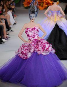 Défilé Dior Haute Couture - collection automne hiver 2010-2011