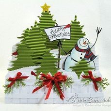 winter step card