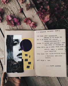 [A Daughter Returns Home] art journal + poetry by Noor Unnahar ✨ // journaling ideas inspiration, notebook diy craft collage art mixed media scrapbook scrapbooking, tumblr indie pale grunge hipsters beige aesthetic, creative artists instagram flatlay photography, words quotes women writers of color poetic artsy //