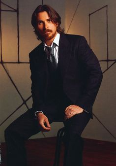 "Christian Bale | Nominated for Best Actor in a Leading Role for ""American Hustle"" please cut your hair now!"