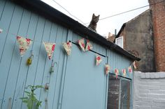 Flower Bunting garden bunting party bunting by LucyAntwisGifts