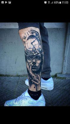 and gray tattoos on legs - Black and gray tattoos on legs -Black and gray tattoos on legs - Black and gray tattoos on legs - Фото тату Евгений Швырев La imagen puede contener: una persona, calzado 14 Amazing Leg Tattoos you should try 90s Tattoos, Best Leg Tattoos, Forarm Tattoos, Neue Tattoos, Bild Tattoos, Best Sleeve Tattoos, Tattoo Sleeve Designs, Tattoo Designs Men, Body Art Tattoos