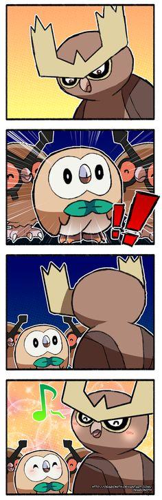 Pokemon - Owls by Dragonith on DeviantArt