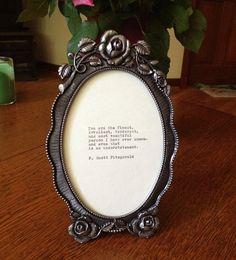 F. Scott Fitzgerald. I need this.