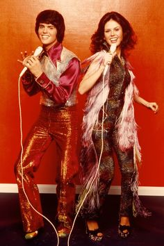 Donny and Marie Osmond 1979   1970s Fashion: 27 Moments That Defined Seventies Style   Marie Claire