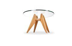 Base para mesa de jantar em madeira | MUMA - Móveis e objetos de design assinado - Entrega em todo o Brasil