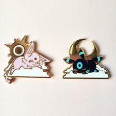 Pokemon Pins, Cute Pokemon, Bag Pins, Cool Pins, Pin And Patches, Hard Enamel Pin, Pin Collection, Rose Gold Plates, Handmade Items