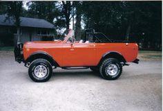 1975 International Scout. Dream Vehicle.