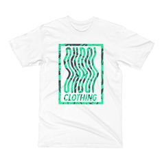 A classic, comfortable tee with a modern fit. Clothing, Mens Tops, Pink, Green, Summer, Fashion, Outfits, Moda, Clothes