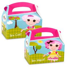 Lalaloopsy Empty Favor Boxes