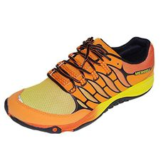 Merrell - Zapatillas de running para hombre Naranja naranja 42 - http://paracorrer.com/producto/merrell-zapatillas-de-running-para-hombre-naranja-naranja-42/