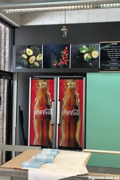 Add some appetite appeal to your cafe wall with from Your customers will feel hungry in no time! Place your order today. Cafe Wall, Custom Wall, Bedroom Wall, Spice Things Up, Digital Prints, Inspired, Wallpaper, Inspiration, Home Decor