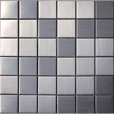 Halcon - mozaiki dekoracyjne METAL Acero (30x30 plaster)