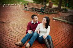 erica & joe's engagement session by rachel lusky photography