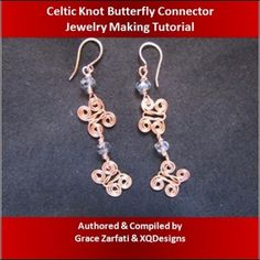 Celtic Knot Butterfly Connector