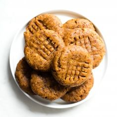 Grain-Free Peanut Butter Cookies-Get your hourly source of sweet...