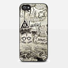 Amazon.com: harry potter quote for iPhone 5/ 5s Black case: Cell Phones & Accessories