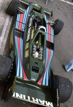 """itsbrucemclaren: """" (Mario Andretti's) Lotus 80 - Ford-Cosworth DFV 3.0 V8 1979 French Grand Prix, Circuit de Dijon-Prenois © Daniel Migeon """""""