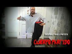 Disfraz de cuerpo dividido para Halloween - Disfraz última hora Halloween - YouTube