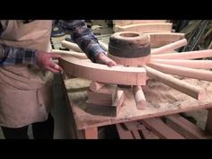 Making a Wooden Carriage Wheel pt 2
