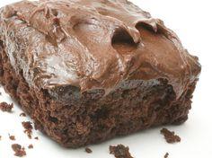 Saftig sjokoladekake med glasur