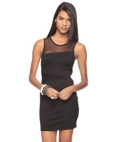 Mesh Inset Dress  $17.80