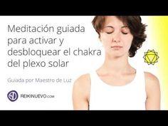 Meditación para activar y desbloquear el chakra del plexo solar - YouTube