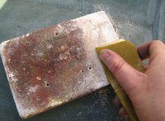 How to clean your firebricks - Come pulire il mattone per saldare