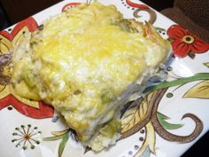 Green Chile Chicken Enchiladas Recipe. Green chile is notorious in only the land of enchantment (New Mexico)