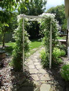 Garver House gardens
