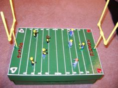 Football Field Valentine's Day Box