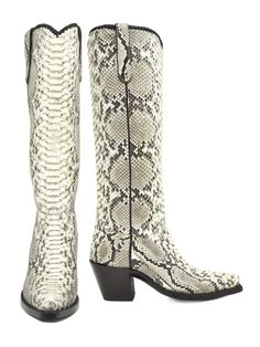 Python Twiggy - Handmade Cowboy Boots from Liberty Boot Co