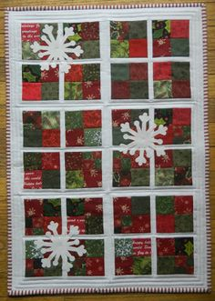 Windows on Christmas by lesleythecuddlequilter