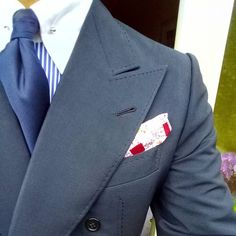 ed94271c051e Typical #Parisian bespoke garment: Milanese buttonhole, handstitching,  structured cigarette shoulder, lining