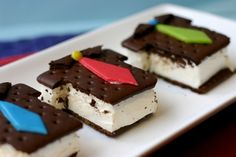 Fathers Day Ice Cream Sandwiches
