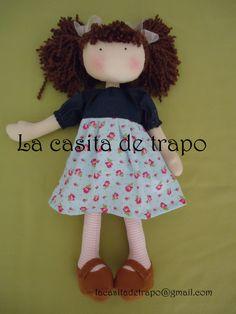 Muñeca Claudia, la casita de trapo, Chile