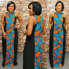 Party Guest Ankara Maxi Dress - Ankara collections brings the latest high street fashion online African Fashion Ankara, Latest African Fashion Dresses, African Print Dresses, African Print Fashion, Africa Fashion, African Dress, Latest Fashion, Fashion Styles, Fashion Online