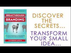 Video excerpt from Catherine Kaputa's new book, Breakthrough Branding. Find more at http://selfbrand.com/books/breakthroughbranding.html !