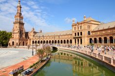 Find Famous Plaza De Espana Sevilla Spain stock images in HD and millions of other royalty-free stock photos, illustrations and vectors in the Shutterstock collection. Sevilla Spain, Malaga Spain, Monaco, Melbourne, Portugal, Spain Travel Guide, Day Tours, Study Abroad, World Heritage Sites