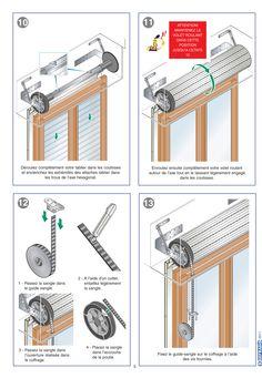 10 Meilleures Idees Sur Notice De Pose Volet Roulant Traditionnel Gefradis Pose Volet Roulant Volet Roulant Volet