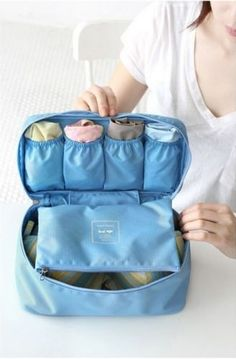 New Portable Protect Bra Underwear Lingerie Case Travel Organizer Bag Waterproof | eBay