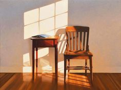 Some thoughts on Jim Holland's work and some selected paintings Jim Holland is an American artist, born in 1955 in Schenectady, NY. Light And Shadow, Oeuvre D'art, Painting Inspiration, Holland, Contemporary Art, Illustration Art, Windows, Interior Design, Decoration